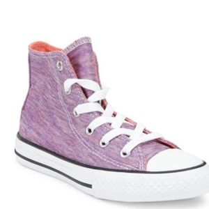 Converse Shoes - Converse All Star Bright Violet High Top Shoe